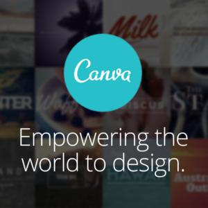 Eigen drukwerk maken met canva.com